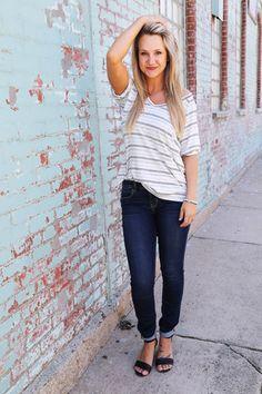Stripes Tee Tunic