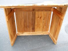 Large Wooden Outdoor Nativity Stable Manger