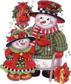 Lets hope for lots of snow this Christmas to make Snowmen