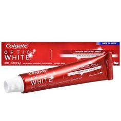 Colgate Optic White Sparkling Mint Toothpaste, 1.15-oz. Tubes