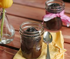 Deep, Dark Chocolate Cake in a Jar from Sarah's Cucina Bella
