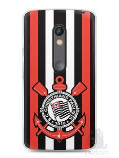 Capa Capinha Moto X Play Time Corinthians #4 - SmartCases - Acessórios para celulares e tablets :)