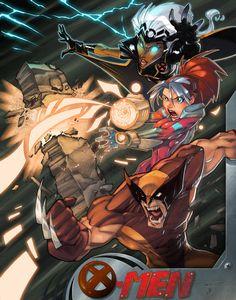X-men Are Go by *Zatransis on deviantART