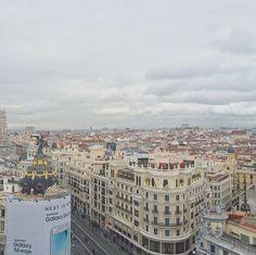 Madrid, siempre es un placer reencontrarme contigo.  #madrid