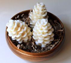 Pinecone+organic+soap+white+by+HancoxHomestead+on+Etsy,+$5.00