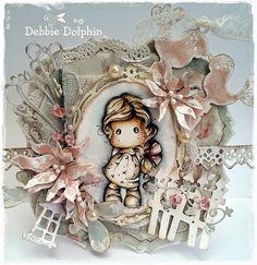 Magnolia cards by Debbie: Oh La La Divine Tilda