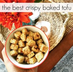 How to Bake Crispy and Flavorful Tofu | The Friendly Fig