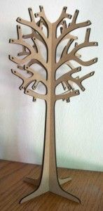Wooden Jewellery Tree