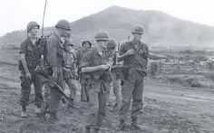 US Army 545th Military Police Company ready to move out on an operation, 1967.