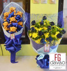 Flowers and Gifts Shop in Davao City  123 Lopez Jaena St., Davao City www.FGDavao.com 0998 579 5720  #blue #bearbouquet #majesticbluerose #bluerose #blueroses #flowers #gifts #giftsdavao #giftsph #flowerbouquets #chocolatebouquet #bearbouquets #giftideas #giftitems #flowershop #giftshop #giftdelivery #davao #ph #delivery #service #fgdavao #arts #crafts