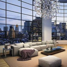 Incredible #NYC #penthouse #apartment valued at 45 million dollars. #NewYorkApartments #NewYorkPenthouse
