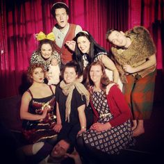 """@delwags's photo: """"Saw #AMadTeaParty last week with @jessfmoody , had such a great time! Pretty sure @ilanacharnelle was born to play #Alice :) #mfringe #wonderland"""""""