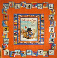 This bright, cheerful, quilt uses two Paddington panels: one large panel, surrounded by one book panel and whimsical log cabin blocks. The kit includes all fabric for the top, borders and binding.