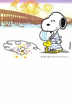 Snoopy and Woodstock Japan