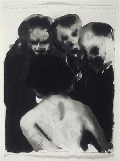 Name no names 2001 Marlene Dumas #watercolour