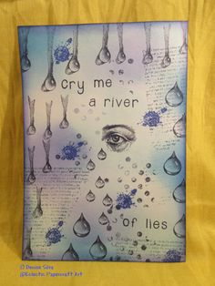 By Denise Silva using Designs by Ryn: water Effects 2 stamps