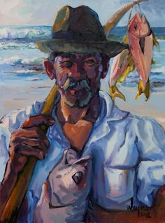 Cultured Art --- 'Dolf' (and Arniston local) Artist Weyers