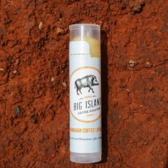 """For adventurers travelers & #coffeelovers >> """"This Lip Balm came in handy while trekking the red dirt of Hawaii."""" #regram @napohbarista & @jessica_aloha"""