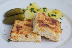 Zapekaný karfiol Quiche, French Toast, Breakfast, Food, Chef Recipes, Koken, Morning Coffee, Quiches, Meals