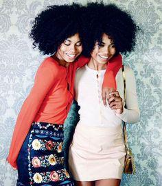 ELLE SOUTH AFRICA FEB 2015: 'Me, Myself and Her' | models: Suzana and Suzane Massena | Photo: Caroline Mackintosh