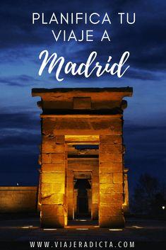 ¿Tienes todo listo para viajar a Madrid? Revisa esta con guía con todos los datos que necesitas saber antes de comenzar tu viaje. Transporte, alojamiento, presupuesto y más.