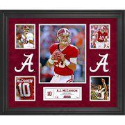 AJ McCarron Alabama Crimson Tide Framed 5-Photo Collage