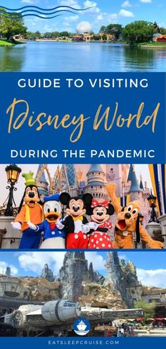 Guide to Visiting Walt Disney World During the Pandemic - We have just returned from a trip to the happiest place on earth and have our 12 tips for visiting Walt Disney World during the pandemic. #Disney #DisneyWorld #WDW #eatsleepdisney #DisneyParks Disney Vacation Planning, Disney World Planning, Disney World Trip, Disney Vacations, Disney Parks, Disney Travel, Disney Bound, Vacation Ideas, Disney World Tips And Tricks