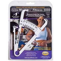 Accu Fitness LLC ACCU-MEASURE® FITNESS 3000 Personal Body Fat Tester - ACCUFITNESS - GNC