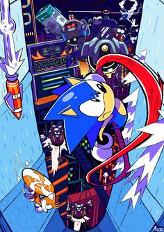 Gotta go fast,Sonic Mania Fan Picture Sonic The Hedgehog, Hedgehog Art, Silver The Hedgehog, Shadow The Hedgehog, Arte Nerd, Sonic Unleashed, Classic Sonic, Sonic Mania, A Hat In Time