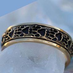 Wild Alaska Wolf Paw Ring in Sterling Silver ~ www.goldrushfinejewelry.com