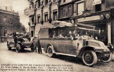 Les moyens de transport de Paris