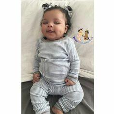 Raena Noelle - 2 Months • Dad: African American • Mom: African American, Puerto Rican & Irish ❤