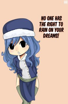 Motivational chibi Juvia