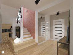 Dom 120 m2 pod Krakowem - Hol / przedpokój, styl nowoczesny - zdjęcie od INNers - architektura wnętrza
