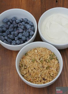 granola and yogurt m