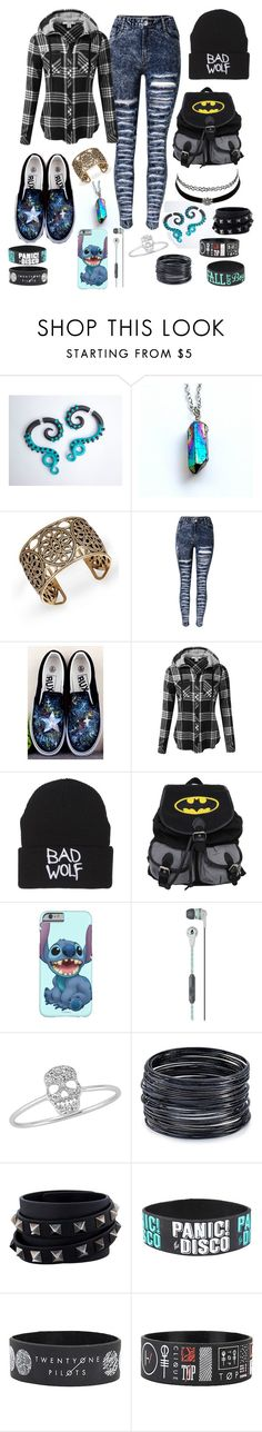 Major Emo/Nerd look. #4 by saollover on Polyvore featuring J.TOMSON, ABS by Allen Schwartz, Valentino, Amorium, Skullcandy and Charlotte Russe
