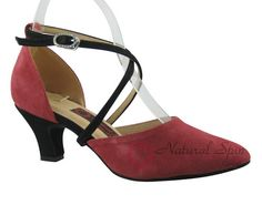 Natural Spin Tango Salsa Shoes/Tango Shoes/Fashion Shoes(Closed Toe, Leather):