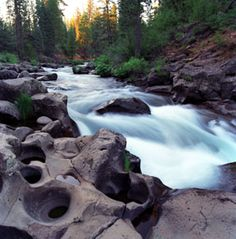 McCloud River, near Mt. Shasta CA. A great place to fly fish. I've actually been to Mt Shasta and its gorgeous!