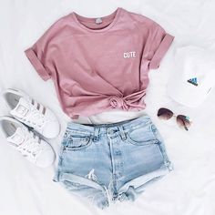 Look verão | Shorts + Camiseta Cool ♕