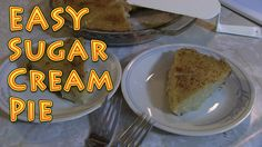 Sugar Cream Pie At Home EASY and Delicious