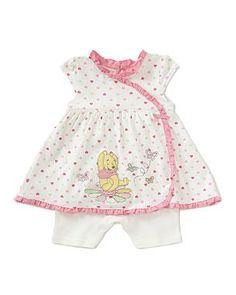 Winnie the Pooh Romper Baby Dress
