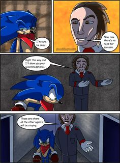 A Hedgehog's Lament Act 2 Pg 10 by SonikkuFan94 on DeviantArt