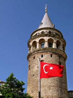 ✿ ❤ Galata Tower, Istanbul, Turkey..