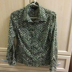 Long sleeve fashion shirt Dressy button down shirt ninety Tops Blouses