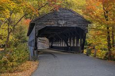 Albany Covered Bridge, Kancagamus Highway, White Mountains, New Hampshire. by pedro lastra on Flickr.
