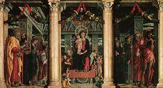 Retable de Saint Zénon, 1457-1460, Andrea Mantegna, Vérone, San Zeno