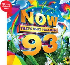 Pre-order 'Now 93' and receive 150 extra Clubcard points The tracklist for the new NOW compilation has not been released yet, but if you pre-order the CD at Tesco Direct, you can bag 150 extra Clubcard point...
