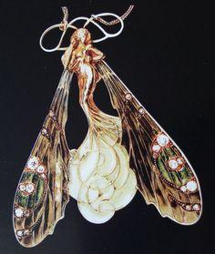 The Faery Crossing   Un elfe célèbre : René Lalique - My Fairy Life