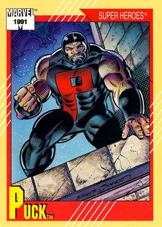 Puck 1991 Marvel Universe Trading Card Series II