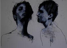 nickelsonwooster:  Sketched. Mark Horst